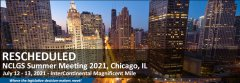 Chicago Meeting Rescheduled to July 2021.